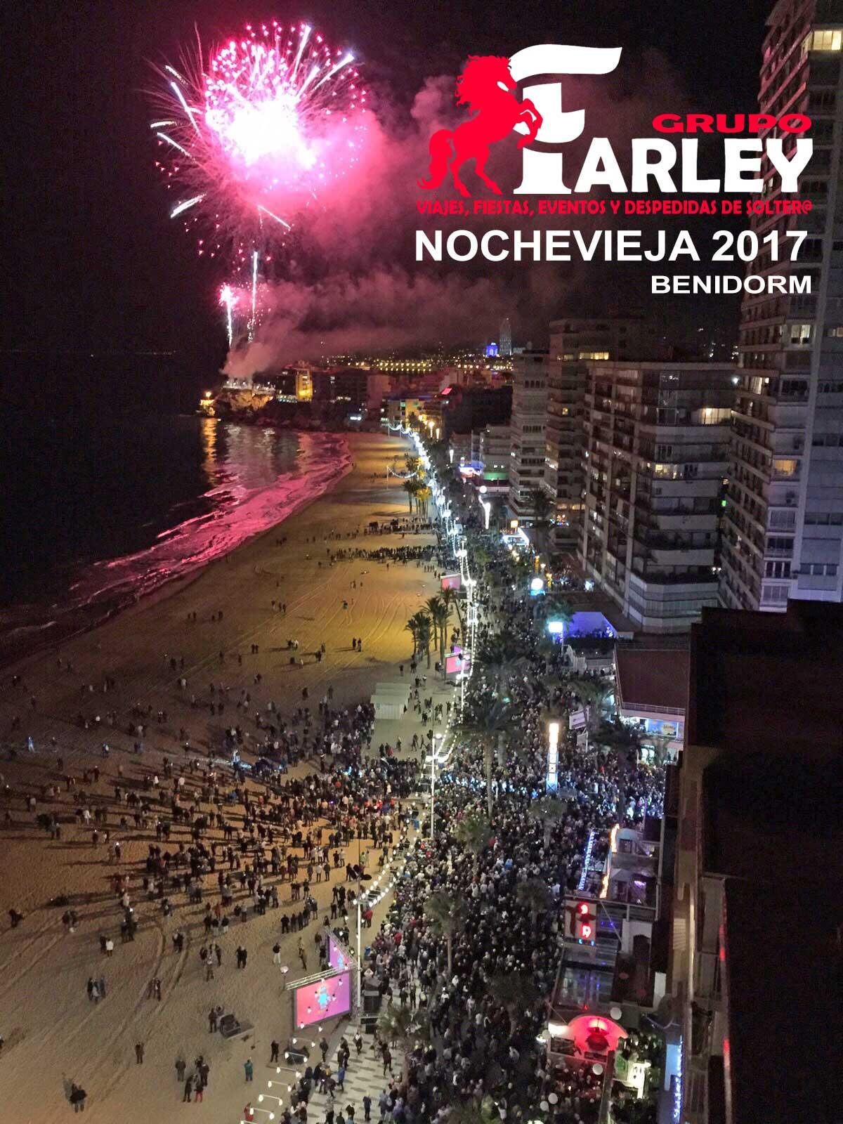 Nochevieja Benidorm Playa  Reservas 647 458 239  Agencia