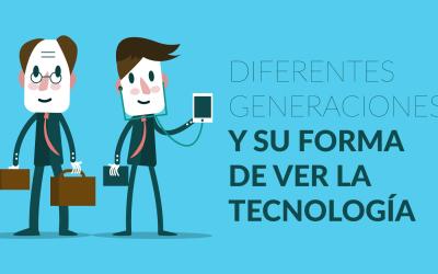 Diferentes generaciones y su forma de ver la tecnología