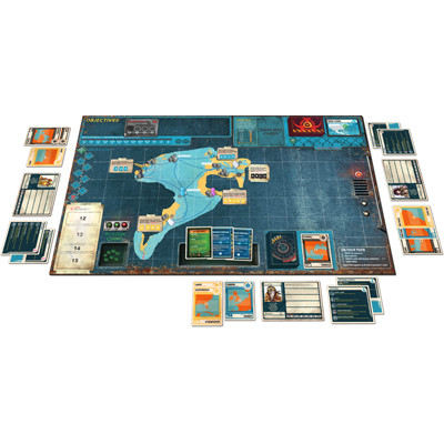 Pandemic Legacy Seizoen 2 Yellow