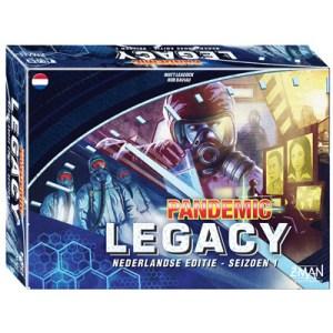 Pandemic Legacy Seizoen 1 Blauwla
