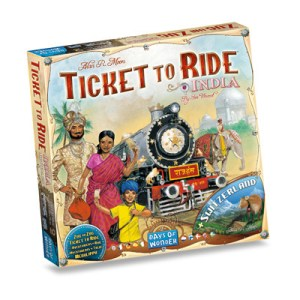 Ticket to Ride - India & Switzerland (Map Coll. #2)