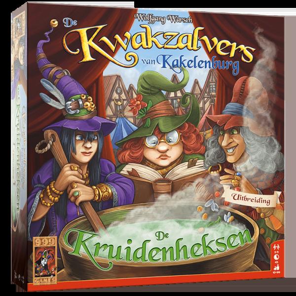 e Kwakzalvers van Kakelenburg: De Kruidenheksen
