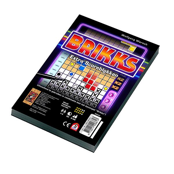 Brikks Scoreblok
