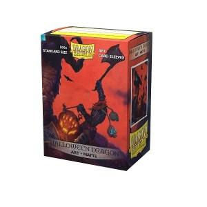 Sleeves Dragon Shield - Art Halloween Dragon (100 stuks)