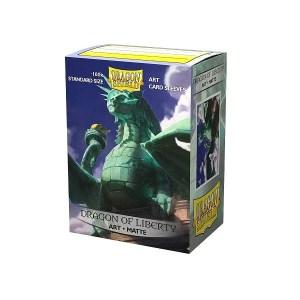 Sleeves Dragon Shield - Art Dragon of Liberty (100 stuks)