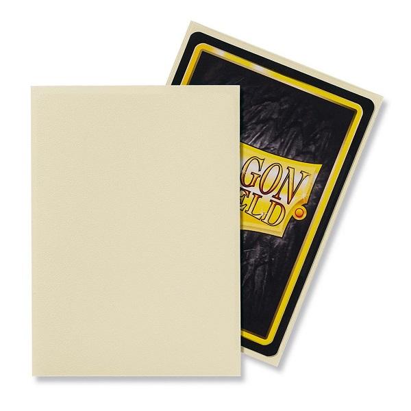Sleeves Dragon Shield - Standard Matte Ivory (100 stuks)