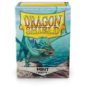 Sleeves Dragon Shield - Standard Matte Mint (100 stuks)