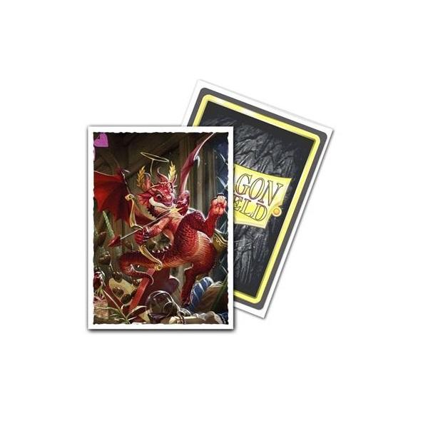 Sleeves Dragon Shield - Art Valentine Dragon 2020 (100 stuks)
