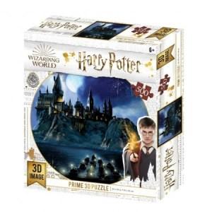 Hogwarts - 3D Image Puzzel (500)
