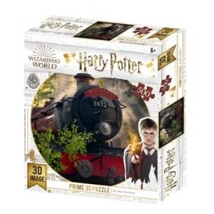 3D Image Puzzel - Hogwarts Express (500)