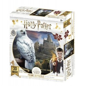 Harry Potter Hedwig - 3D Image Puzzel (500)