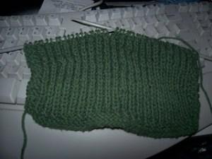 Beginner 1×1 Ribbed Dishcloth {free knitting pattern}