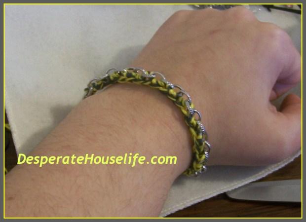 Crochet Chain Bracelet DIY