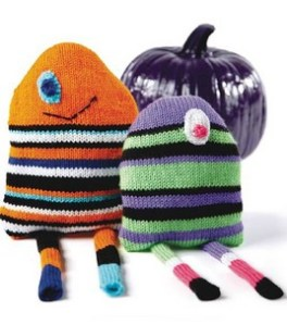 Knit Monster Pillows
