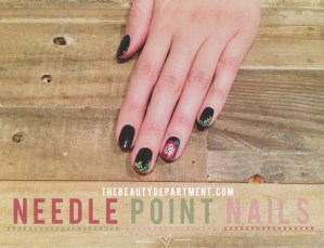Needlepoint Nails Tutorial