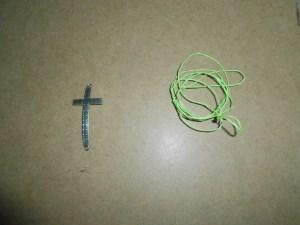 Cross Sliding Knot Bracelet {DIY}