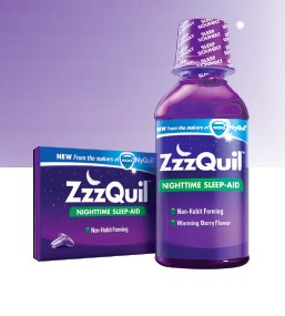 ZzzQuil Nights Sleep Challenge Results