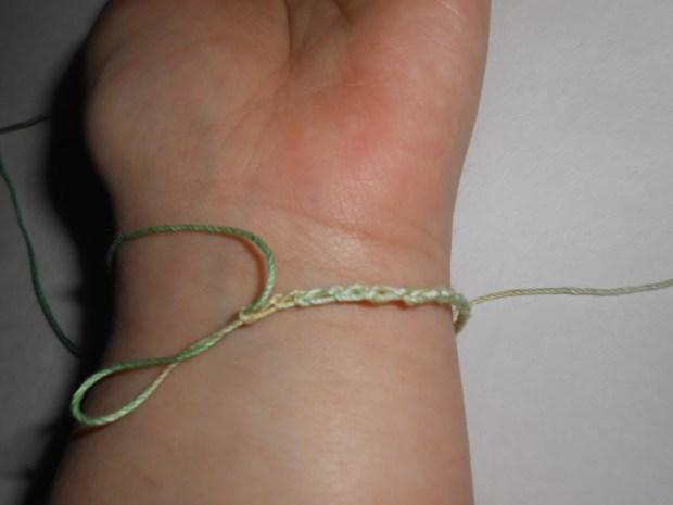 crochet love bracelet 4