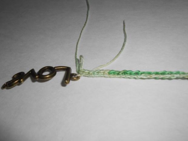 crochet love bracelet 5