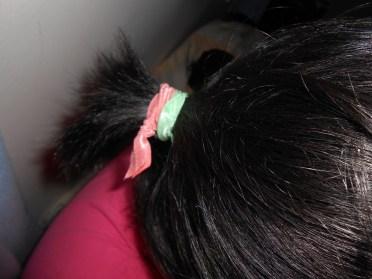 DIY Elastic Hair Ties {Anthro and Emi-Jay Knockoff}