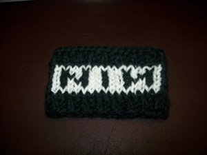 NIN Coffee Cozy {free Knitting Pattern}