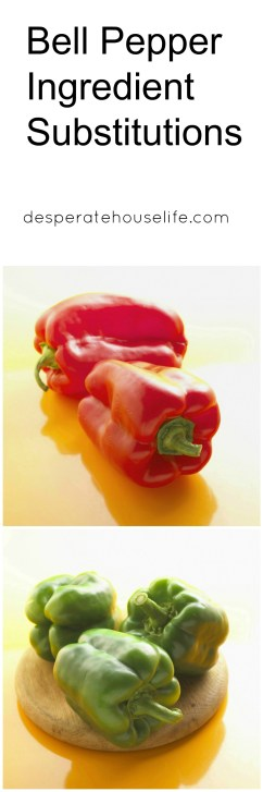 Bell Pepper Ingredient Substitutions