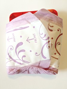 DIY Poise Recycle Your Period Pad Money Hider #RecycleYourPeriodPad