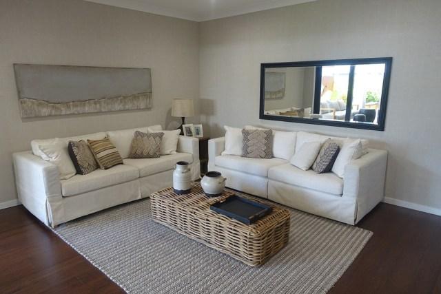 Sofa Loungeroom Couch Interior Home Lounge Decor