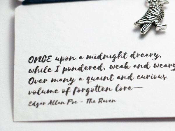 The Raven Friendship bracelet