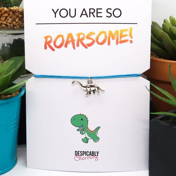 Dinosaur Wish Bracelet