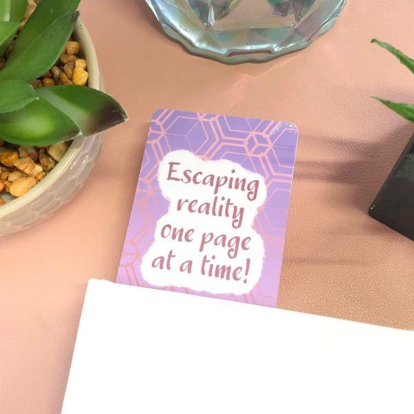 Self Care Quote Bookmark