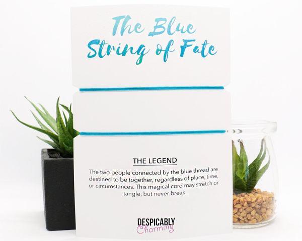 Blue String of Fate Bracelet