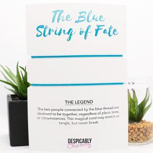 Blue String of Fate Bracelet
