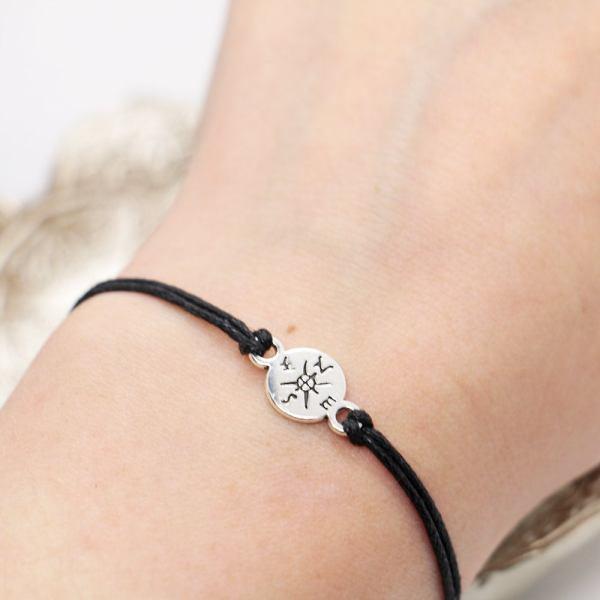 Compass Couples Bracelet Set