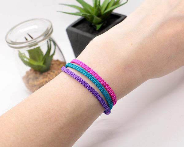 Set of 3 Macrame Bracelets