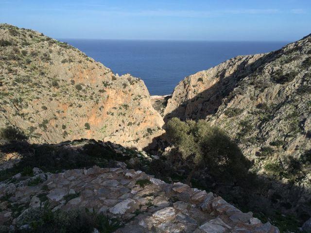 Sea View -Hiking in Chania - Gouverneto Gorge Akrotiri