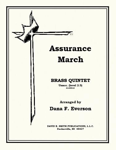 assurance march everson dana f brass ensemble quintets