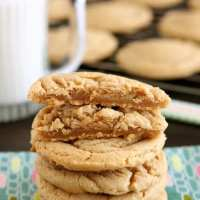 Thick and Chewy Peanut Butter Cookies (+ Video)
