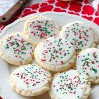 Christmas Meltaway Cookies (+ Video)
