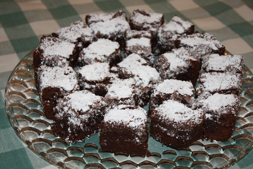 Desserts Required's Budge's Brownies are decadent, chocolatey, fudgy and cakey all at the same time! It is a recipe that will become your go-to recipe in a nanosecond!