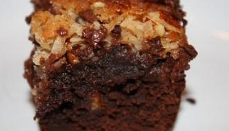 German-Chocolate-Cake Brownies