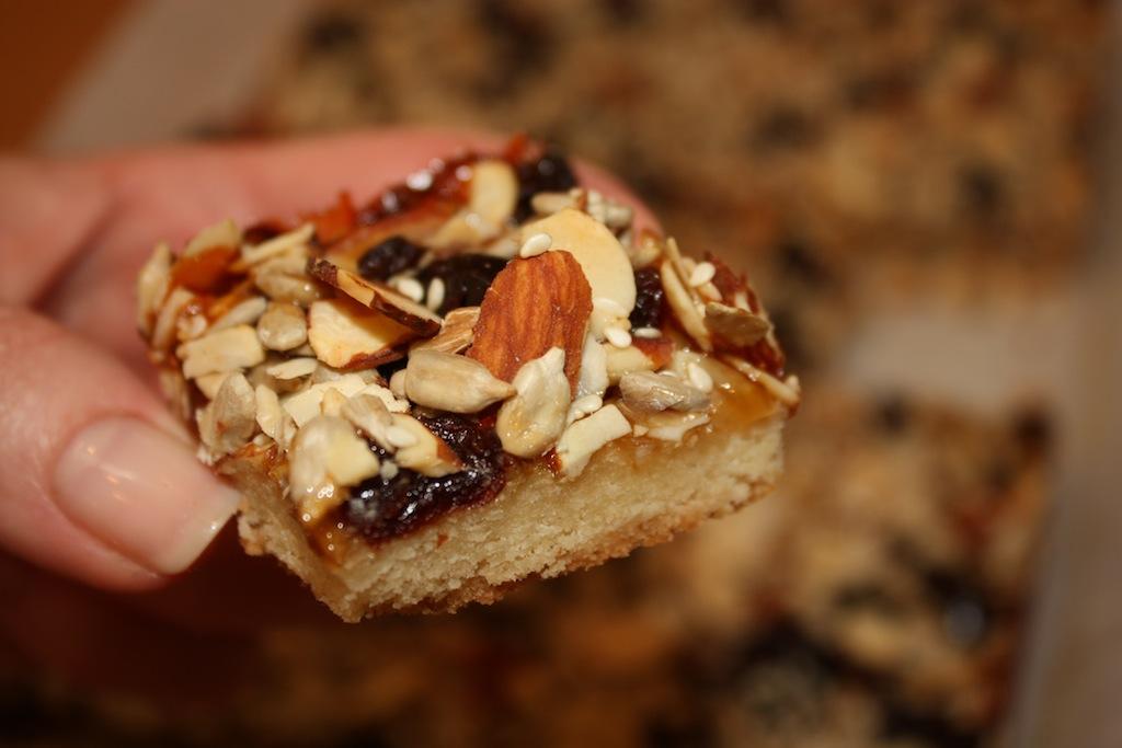 Desserts Required - Harvest Bars