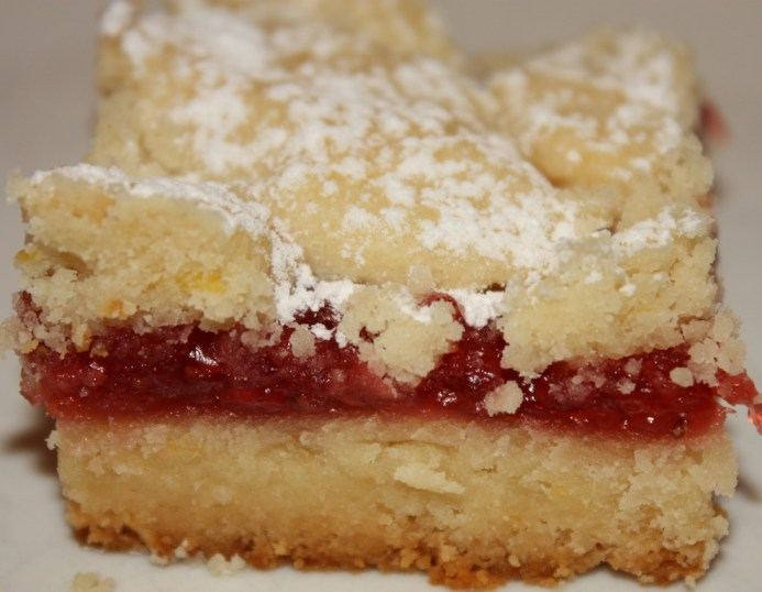 Lemon Strawberry Bars