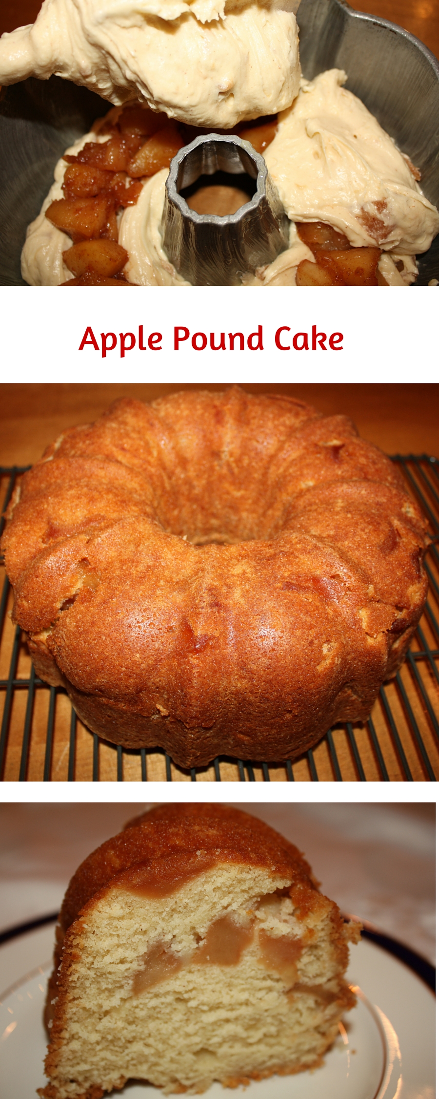 Apple pound cake recipes from scratch
