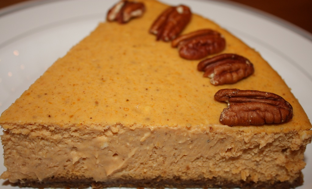 Desserts Required - Pumpkin Cheesecake