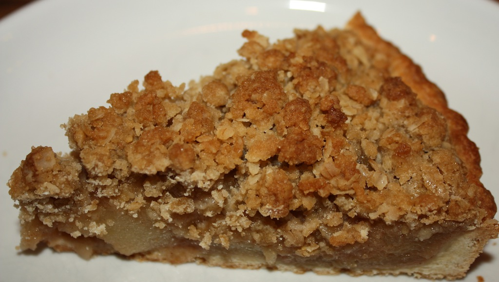 "Apple Streusel Tart - Perhaps we should say, ""American as Apple Tart!""  The recipe is loaded with apples and cinnamon and the topping is delicious!"