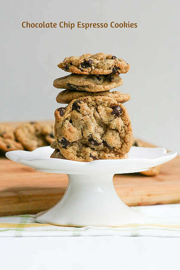 The addition of espresso sets these Chocolate Chip Espresso Cookies apart from others. Enjoy them warm out of the oven or straight f