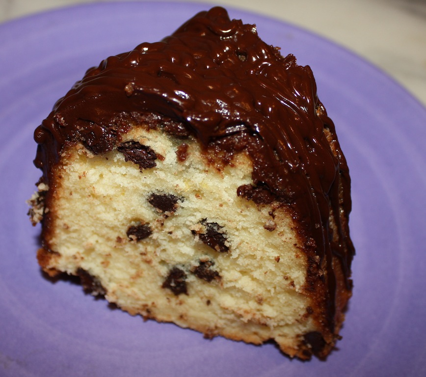 Desserts Required - Chocolate Chip Lemon Pound Cake