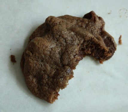 Chewy and Nutty Chocolate Cookies