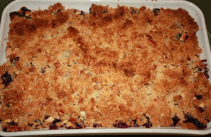 Blueberry 'Waffle' Crisp